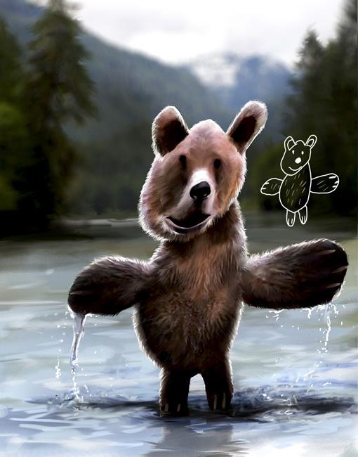 Des trucs marrants vus sur le web - Page 3 GrizzlyBeerKiddieArtSeries